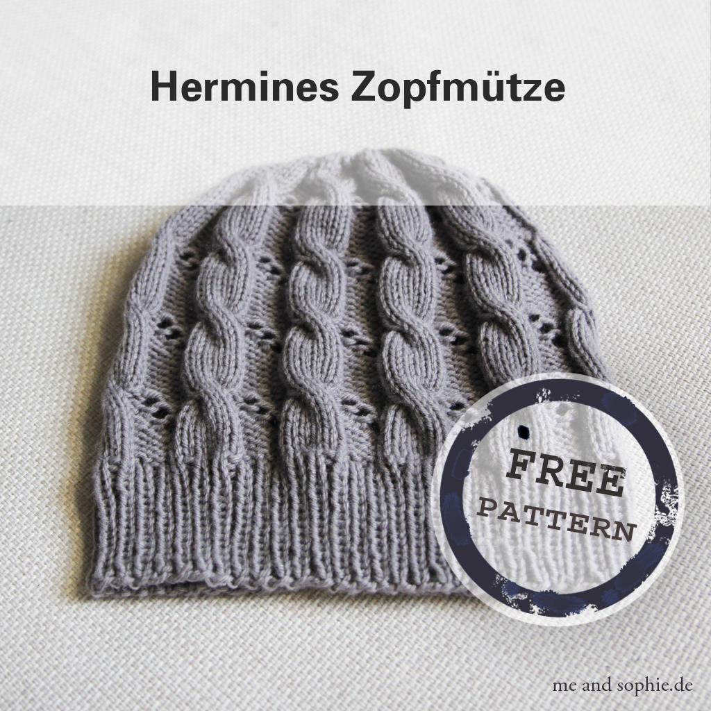 Hermione's Cable & Eyelet Hat 05